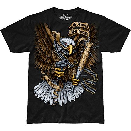7.62 Design Arms We Trust' Men's Jumbo Print T-Shirt XL (Print Design T-shirt 7.62)