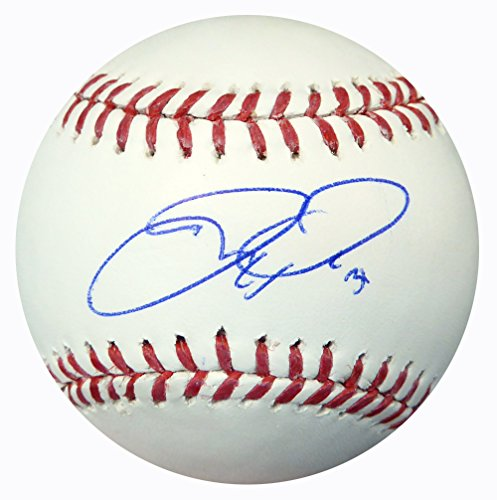 JOC PEDERSON AUTOGRAPHED OFFICIAL MLB BASEBALL LOS ANGELES DODGERS BECKETT BAS STOCK #115085