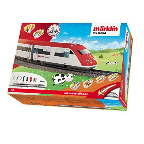 M?rklin my world Starter Set ICN Swiss High Speed Train, used for sale  Delivered anywhere in USA