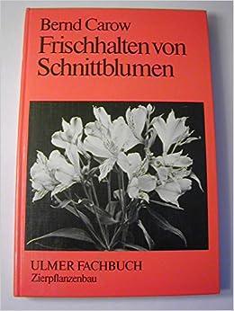 Frischhalten Von Schnittblumen Amazon De Bernd Carow Bucher