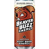 BEAVER BUZZ ROOT BEER ENERGY (BROWN Can)