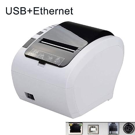 Amazon.com: Impresora de recibos térmicos 3.150 in Cortador ...