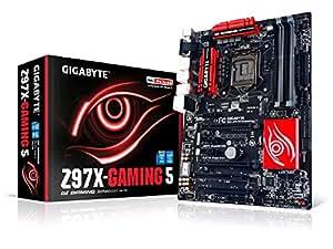 Gigabyte GA-Z97X-GAMING 5 LGA 1150 Z97 115dB SNR HD Audio with Built-In Rear Audio Amplifier ATX Motherboard