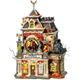 Department 56 Snow Village Halloween Grimsly's House of Oddities