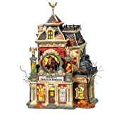 Department 56 Snow Village Halloween Grimsly's House of Oddities Building