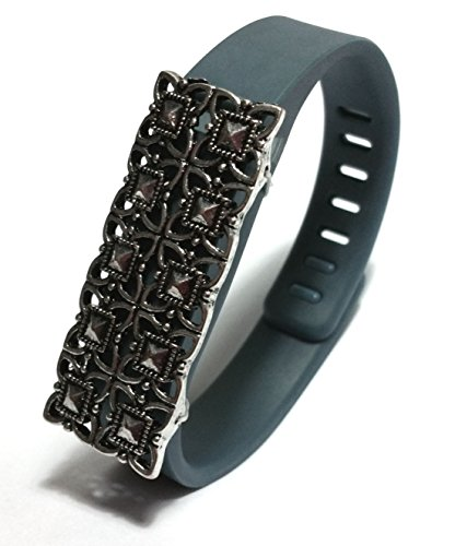 1pcs Fashion Wristband for Fitbit Flex with Clasp Wireless Activity-fitness Band Bling Accessory- Dress Outfit.