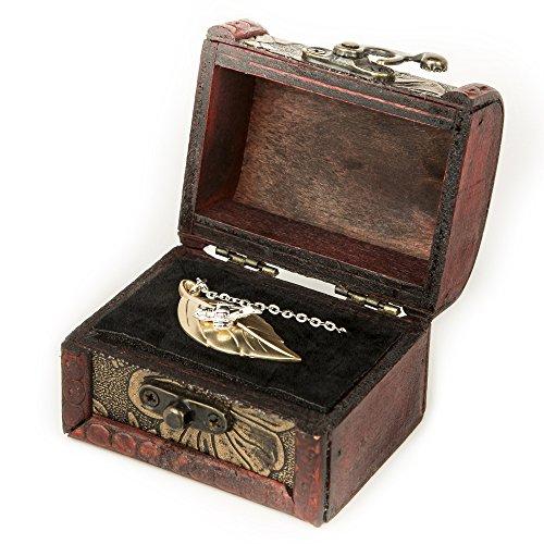 Firefly Serenity 14k Gold/Sterling Silver Leaf Necklace