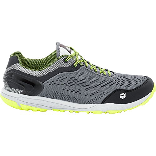 Jack Wolfskin Mens Crosstrail Chill Low Breathable Trail Fitness Shoes yellow