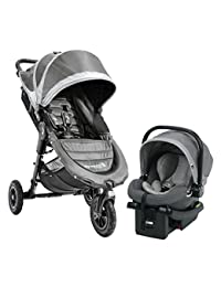 Baby Jogger City Mini GT Travel System, Steel Gray BOBEBE Online Baby Store From New York to Miami and Los Angeles