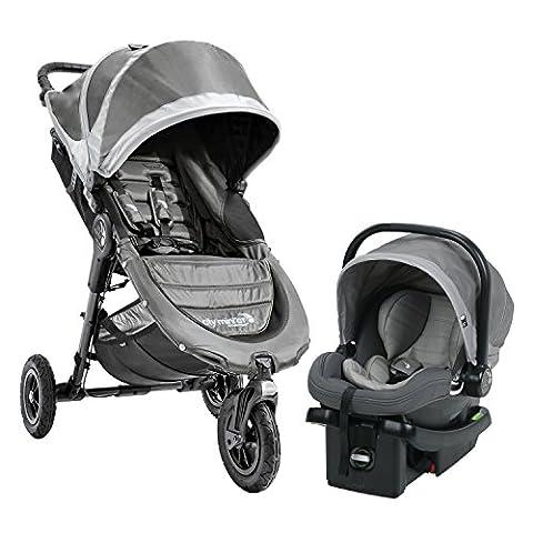 Baby Jogger City Mini GT Travel System, Steel Gray