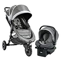 Baby Jogger City Mini GT Travel System, Steel Gray
