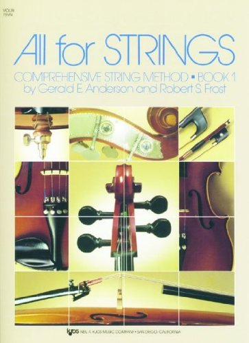 78VN - All For Strings Book 1: (Method Book 1 Violin)