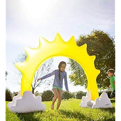 HearthSong Inflatable Sunshine Sprinkler: Toys & Games
