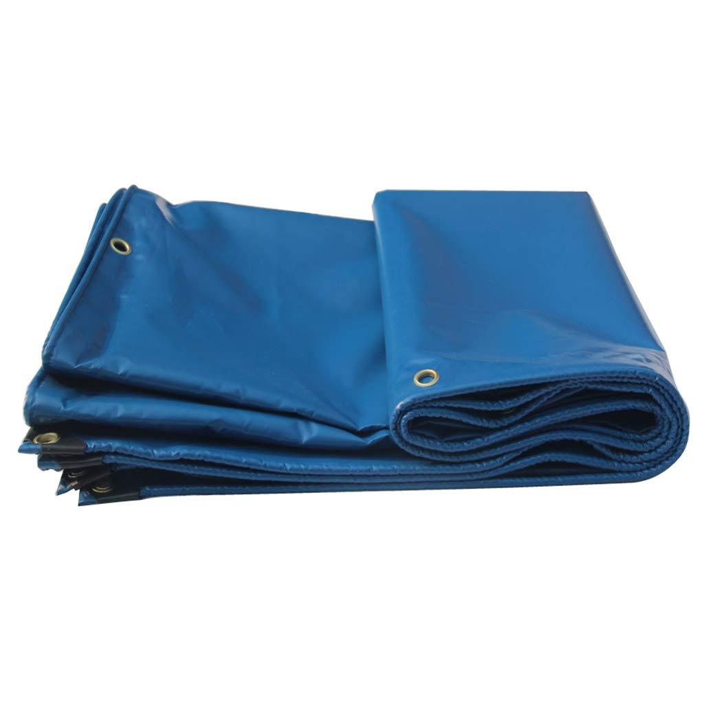 【在庫一掃】 青い車のトラックターポリン防雨布日焼け止めキャンバス厚さ耐摩耗性輸送閉塞ポンチョ防水ターポリン布,12*16M B07P7MPCMB B07P7MPCMB 5*6M 5 5*6M*6M, 激安通販新作:9c2ea744 --- ciadaterra.com