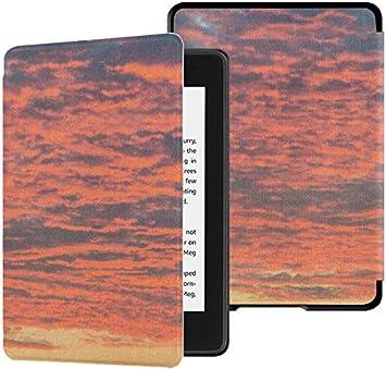 Estuche Protector Kindle Paperwhite Estuches Naranja y Amarillo para Puestas de Sol Estuche Kindle Paperwhite de 10a generación con activación/Reposo automático Estuche Protector Kindle Paperwhite: Amazon.es: Electrónica
