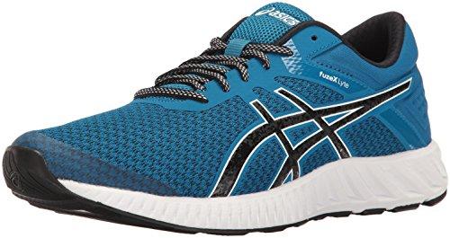 - ASICS Men's fuzeX Lyte 2 Running Shoe, Thunder Blue/Black/White, 14 M US