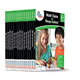 ETA hand2mind Math Tasks Library Books, Grades K-8