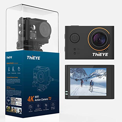 ThiEYE 4K Action Camera WiFi Waterproof Sports Video Camcorder Ultra HD 2
