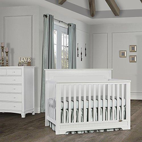 Dream On Me Morgan 5 in 1 Convertible Crib, Espresso Dream on Me Dropship 733-E