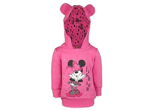 Minnie Mouse Maus Kinder Mädchen Langarm T-shirt Kapuzenpullover Kapuzen Pulli