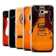 STUFF4 Gel TPU Phone Case / Cover for Samsung Galaxy A5 (2017) / Multipack (6 Designs) / Guitar Collection