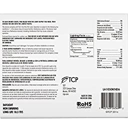 TCP 60 Watt Equivalent, LED A19 Light Bulbs, Non-Dimmable, Daylight (6 Pack)