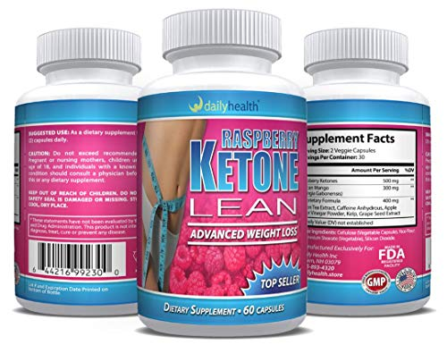 Raspberry Ketones Lean African Mango Blend 1200 mg per Serving 60 Capsules Weight Loss Diet Management Support Supplement (6) by Daily Health (Image #3)