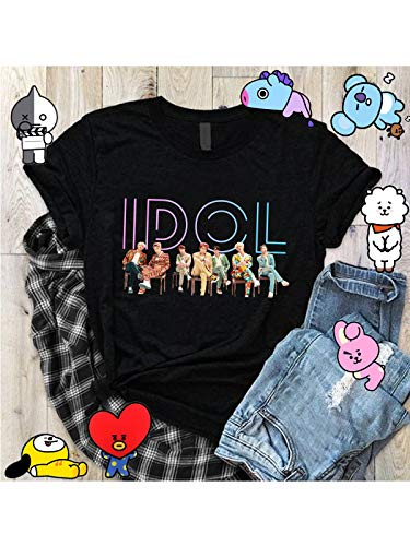 The Incredible BTS Idol Love Yourself Answer Album K-Pop T-Shirt RM Jin Suga J-Hope Jimin V Jungkook by The Incredible BTS