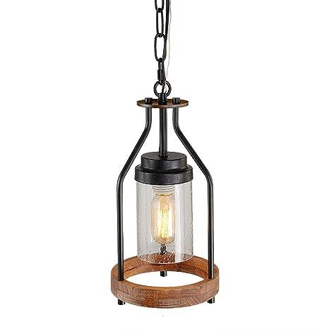 Amazon.com: Giluta - Lámpara de techo con lámpara colgante ...