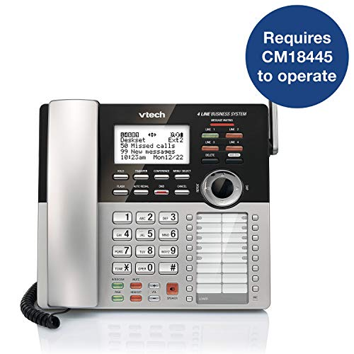 VTech CM18245 Extension Deskset for VTech CM18845 Small Business Office Phone System