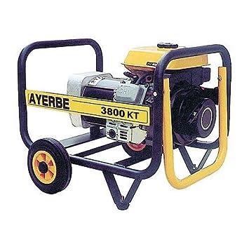 Ayerbe - Generador kiotsu 3800 kt-mn kt-168 6.5hp: Amazon.es ...