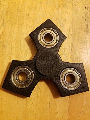 Amazon.com: EDC Tri-Spinner Fidget Spinner (black): Toys & Games