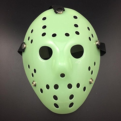 UltraZhyyne - Christmas Cosplay Exquisite Mask Friday The 13th Hockey Mask Horror Cosplay Mask [D] ()