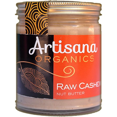 Artisana Organics - Cashew Butter, Certified organic, RAW and non-GMO, no added sugar or oil, rich and creamy (8 oz)