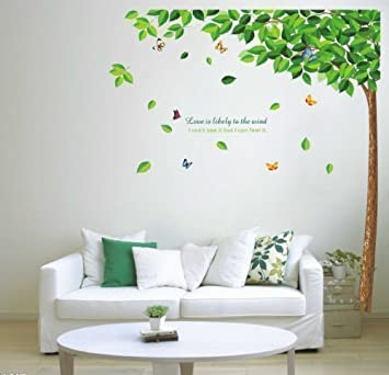 Walplus Wall Stickers Falling Leaves Removable Self Adhesive Mural Art  Decals Vinyl Home Decoration DIY Gallery
