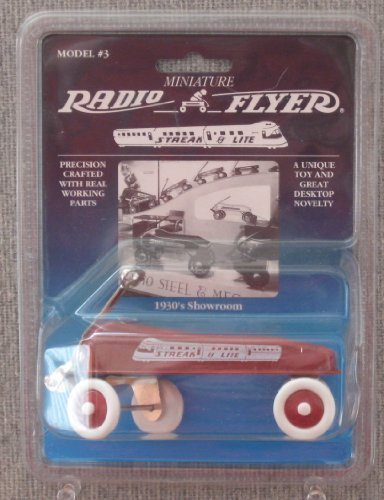 Radio Flyer Miniature Streak-O-Lite Wagon Model (Radio Flyer Miniature)