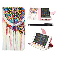 iPhone 6S Case, iPhone 6 Case Wallet, iYCK Premium PU Leather Flip Folio Carrying Magnetic Closure Protective Shell Wallet Case Cover for iPhone 6 / 6S (4.7) with Kickstand Stand - Dream Catcher