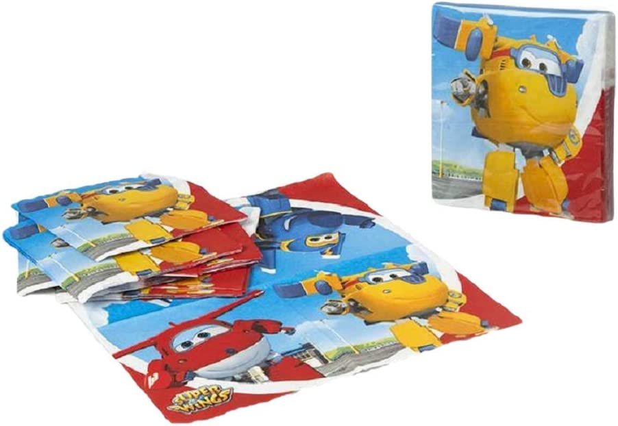Pack servilletas Super Wings: Amazon.es: Hogar