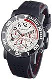 Time Force TF3197M02 - Reloj analógico de caballero de cuarzo con correa negra