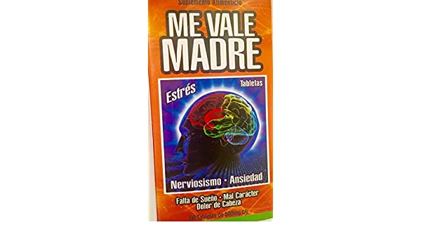 Amazon.com: Tablets Me Vale Madre: Health & Personal Care