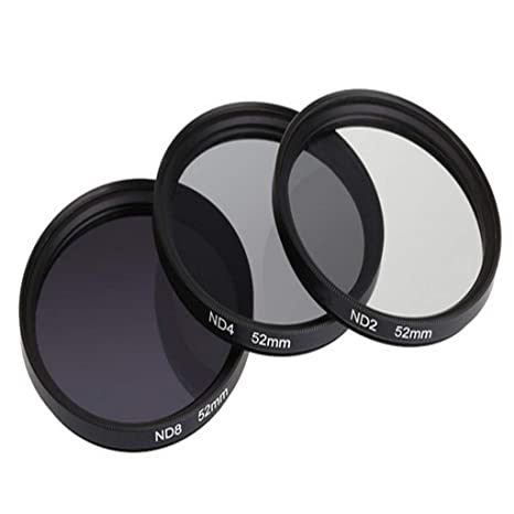 HSKB SHUN YI - Filtro para cámaras réflex (77 mm, ND2, ND4, ND8 ...