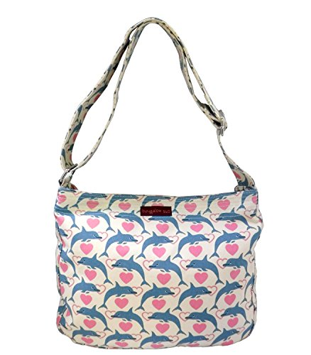 Bungalow360 Women's Accessories - Dolphin Pattern Collection (Messenger (Dolphin Bag)