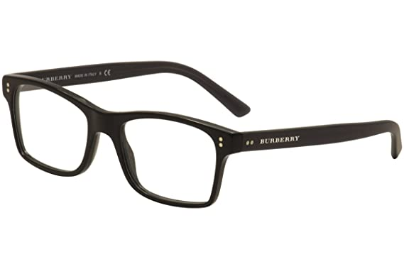Burberry Men\'s BE2222 Eyeglasses Black 55mm at Amazon Men\'s Clothing ...