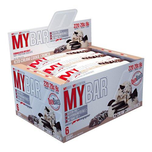 Pro Supps My Bar - Ice Cream Cookie Crunch - 6 Bars
