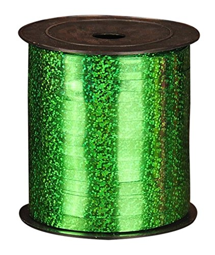 Adfun 1 Pack Balloon Ribbon 250 Yards/Curling Ribbons for Parties, Festival, Florist, Crafts and Christmas Gift Wrapping (Holographic Curling Ribbon)