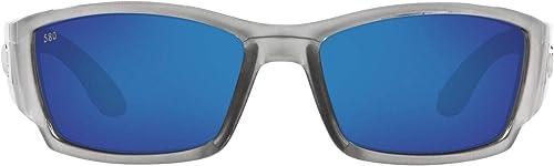 Costa Del Mar Mens Corbina Rectangular Sunglasses