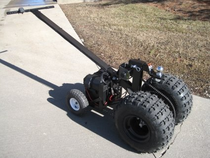 Heavy Duty Powered Motorized Trailer Dolly 12 Volt Deep