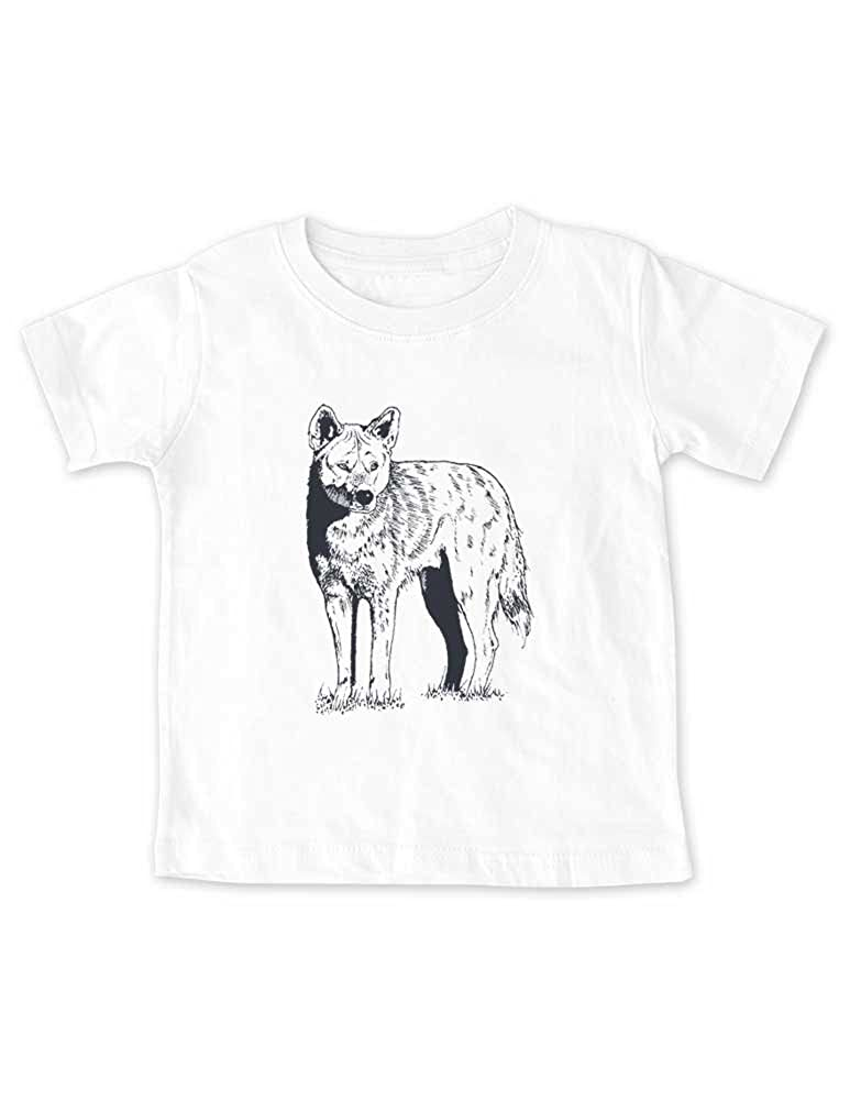 Kids Youth Shirt Wolf Graphic tee Baby Toddler Infant
