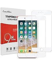 Lanhiem Verre Trempé iPhone 7 / iPhone 8, Film Protection écran