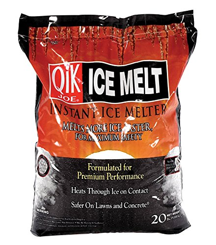 Melter Milazzo Ice (Qik Joe Ice Melter Bag Calcium Chloride Pellets Down To - 25 F 20 Lbs.)